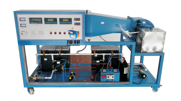 循环式空气参数调节过程实验装置
