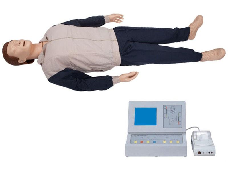 液晶彩显高级心肺复苏模拟人