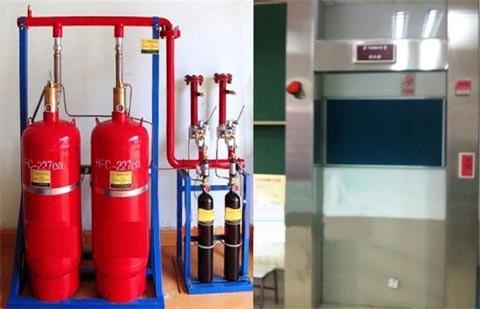 气体灭火系统考核培训系统装置